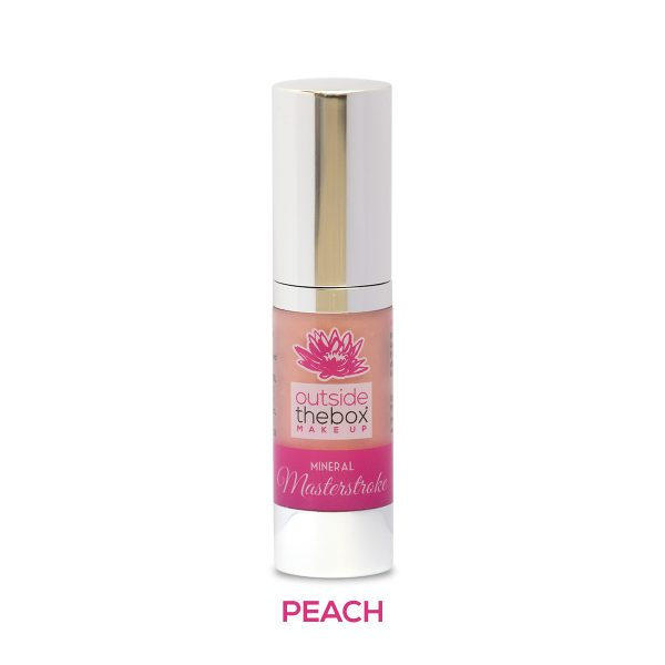 Mineral makeup masterstroke Peach single product shot