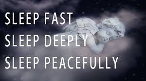 angel, sleeping, peacefully